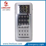 Refillable portable LED Emergency Light with Radio operator FM