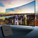 Casella del Internet TV di Google del Android 6.0 di Mxq-4K con il supporto 4K HD di memoria 64bit 2GB 16GB 2.4GHz WiFi del quadrato di S905X