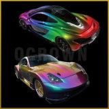 Einhorn-Regenbogen-Aurora-Chamäleon-Glimmer gründete Perlen-Pigment-Puder