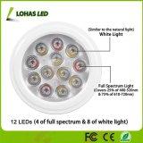 PAR30 E26 12W LED Lámpara de luz crecer la luz del sol natural para las plantas