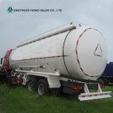 건조한 대량 시멘트 Poweder 수송 40m3 대량 시멘트 트럭