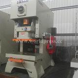 Tipo Jh21 de Wolrd máquina de perfuração da imprensa de potência do selo do metal de folha de 125 toneladas