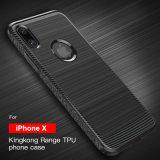 Силикон случая iPhone x Byunite Bc-24 вполне защитный
