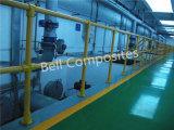 Pasamanos de la FRP, GRP/Glassfiber Sistemas de baranda de la mano, fibra de vidrio Accesorios para tubos, conectores.