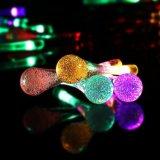 Solarim freienzeichenkette-Lichter, 30 LED-Wasser-Absinken-Eiszapfen-Ambiente-Beleuchtung für Innen, Schlafzimmer, Patio, Rasen, Landschaft, feenhafter Garten, Haus, Hochzeit, Feiertag, Weihnachtsbaum