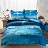 Druck3d duvet-Deckel-gesetzter waschbarer Tröster stellte Baumwollsteppdecke-Qualität 100% Quiltcover ein und passte an