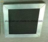 保護された換気装置のためのステンレス鋼フレームとのアルミニウム蜜蜂の巣コア