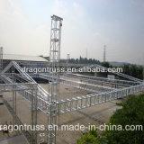 Sistema de aluminio de la azotea del braguero del braguero de la iluminación para la demostración al aire libre