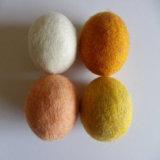 Handmade White Laundry Ball 100% laine les billes du sécheur