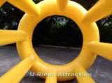 Rouleau flottant gonflable pour le parc de l'eau