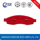 Semi-Metallic Stootkussens van uitstekende kwaliteit van de Rem van de Schijf van de Auto D1201 voor Nissan/Toyota
