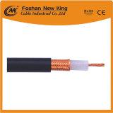 Коаксиальный кабель Rg8 50 омов с медным проводником и утверждением RoHS/Ce/CPR