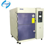 Máquina alta-baja encajonada de la prueba de choque termal de la temperatura tres