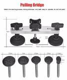 Super Pdr инструментов Car Дент комплект для ремонта комплект для ремонта кузова автомобиля Авто Сервис Дент потянув подъемника мост 220 в пистолет для нанесения клея Tool Bag