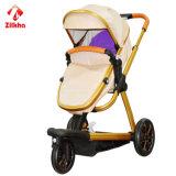 Passeggiatore a tre ruote portatile del bambino