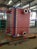 Cambiador de calor soldado modificado para requisitos particulares 304/316L inoxidable de la placa del acero