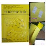 Etiqueta engomada de encargo de papel adhesiva de empaquetado de la inclinación