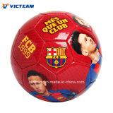 La impresión de fotografías personalizadas de recreación de PVC pelota de fútbol