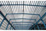 Tratamiento de la estructura de acero galvanizado prefabricados para taller