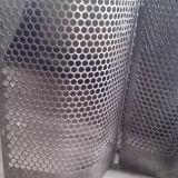 Maglie ampliate del foro di perforazione della maglia del nastro metallico