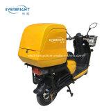 Motorino a pile acido al piombo elettrico della motocicletta delle 2 rotelle di consegna degli alimenti a rapida preparazione