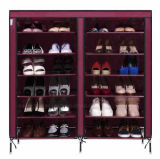 Equipamento para Engraxar os Sapatos de armário de racks de grande capacidade de armazenamento de dados móveis domésticos DIY Rack Sapata portátil simples (FS-05B)