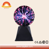 Indicatore luminoso magico del plasma della lampada del plasma del regalo all'ingrosso di festival di 5 pollici