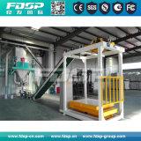 첨단 기술 가축 공급 기계 가금은 펠릿 플랜트를 공급한다