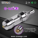 Il kit liquido elettronico dell'atomizzatore di Seego 510 E G-Ha colpito l'atomizzatore doppio della bobina dell'olio di vetro K2