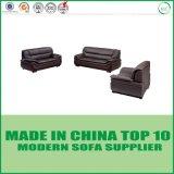 Lederne Sofa-Ausgangsgeschnittenmöbel-gesetztes modernes Ecksofa