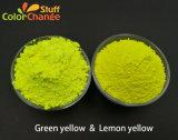 El verde y amarillo limón amarillo fluorescente en polvo para el Teñido de prendas de vestir