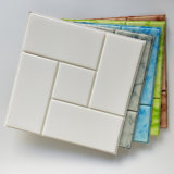 Mousse de carrés de papier peint de mousse 3D de la brique