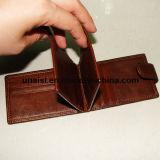 Верхний бумажник краткости владельца карточки кожи Cowhide для человека