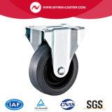 4inch bremste leitende TPR Fußrolle der Platten-