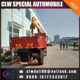 팔 여러가지 4 톤 트럭에 의하여 거치된 기중기, 트럭 기중기, LHD 또는 Rhd는 선택적이다