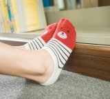 Le New Women's Spring Summer minces chaussettes de coton de bande dessinée