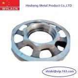 Gießerei-Fabrik-Kohlenstoffstahl-legierter Stahl-Handrad