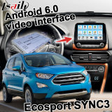포드 Ecosport Sync3 Video Interface Waze Youtube Yandex를 위한 인조 인간 6.0 Navigation Box