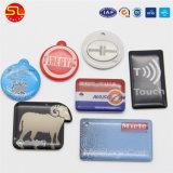 ISO14443A passte gedruckte PVC/Pet/NFC Marken an