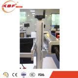 20W FDAの標準アルミ合金の仕事台の金属のファイバー表レーザーのマーキング機械