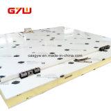 """Panneaux """"sandwich"""" en aluminium de polyuréthane pour le constructeur de porte de chambre froide"""