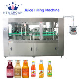 precio de fábrica monobloque de buena calidad 250ml botella de vidrio automática de la leche y zumo de Bebidas Máquina de Llenado