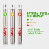 La cigarette électronique de gros de l'huile de la CDB Vape Pen 400mAh Batterie de plume de vaporisateur