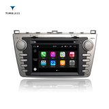 Игрок автомобиля DVD GPS автомобильного радиоприемника платформы S190 2DIN Android 7.1 Timelesslong на Mazda 6 с /WiFi (TID-Q012)