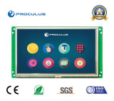 7 de Module van de duim 800*480 TFT LCD met Weerstand biedende het Werk van de Aanraking Screen+Wide Temperaturen. Waaier