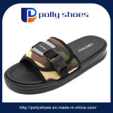 Сандалии людей новых сандалий скольжения черноты конструкции способа прибытия удобные