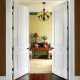 باب مزدوجة داخليّ صلبة خشبيّة مع صورة زيتيّة