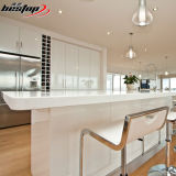 호화스러운 룸 백색 석영 부엌 싱크대 디자인