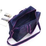 Фиолетового цвета печатаются на открытом воздухе спортивных передач Duffel дорожная сумка багажного отделения