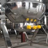 La inclinación de grado alimentario Ketchup/margarina forrados de calefacción hervidor de agua de cocción